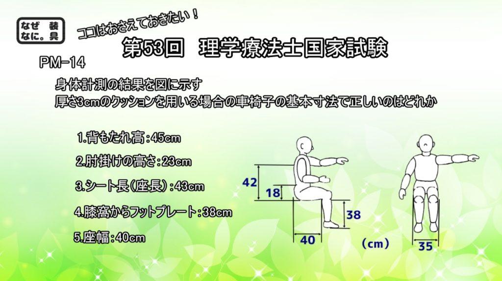 理学療法士国家試験午後-問14