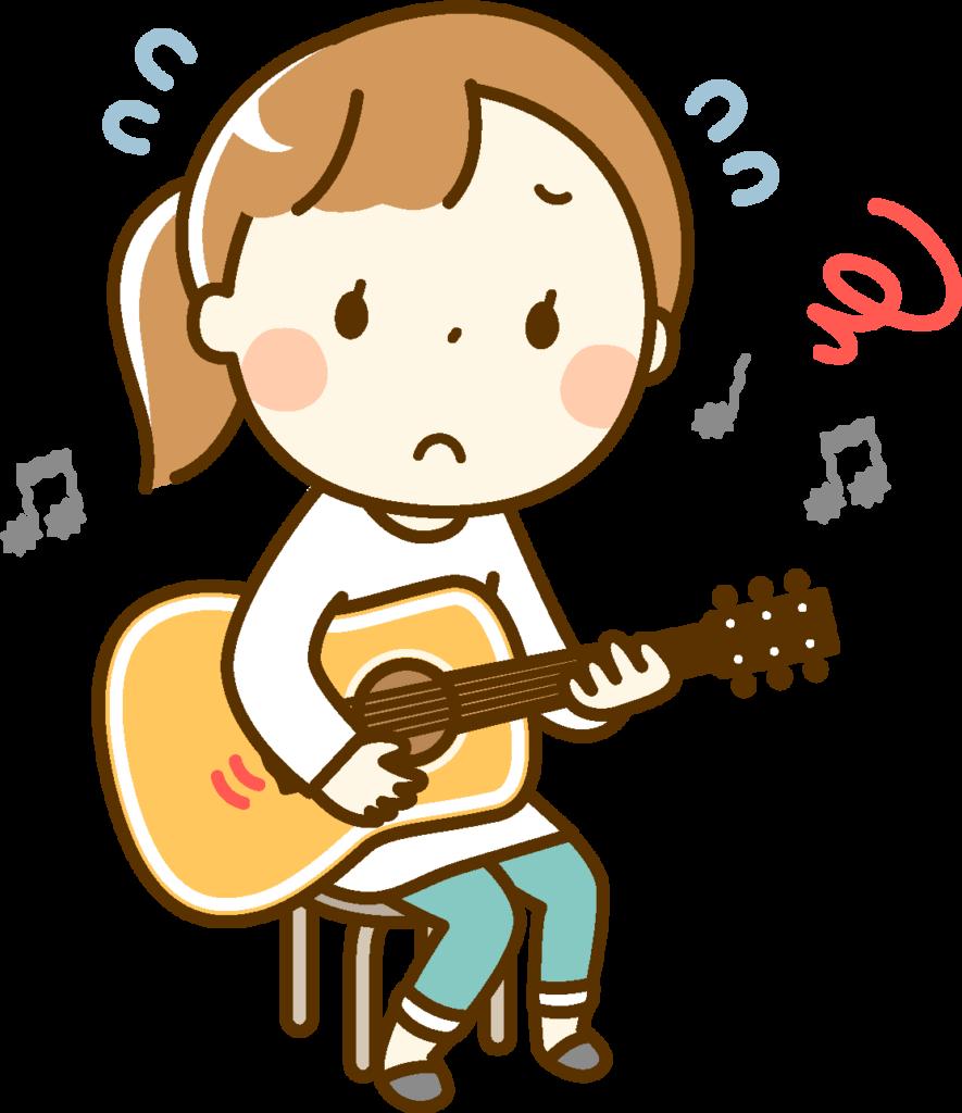 難しすぎるギターの練習