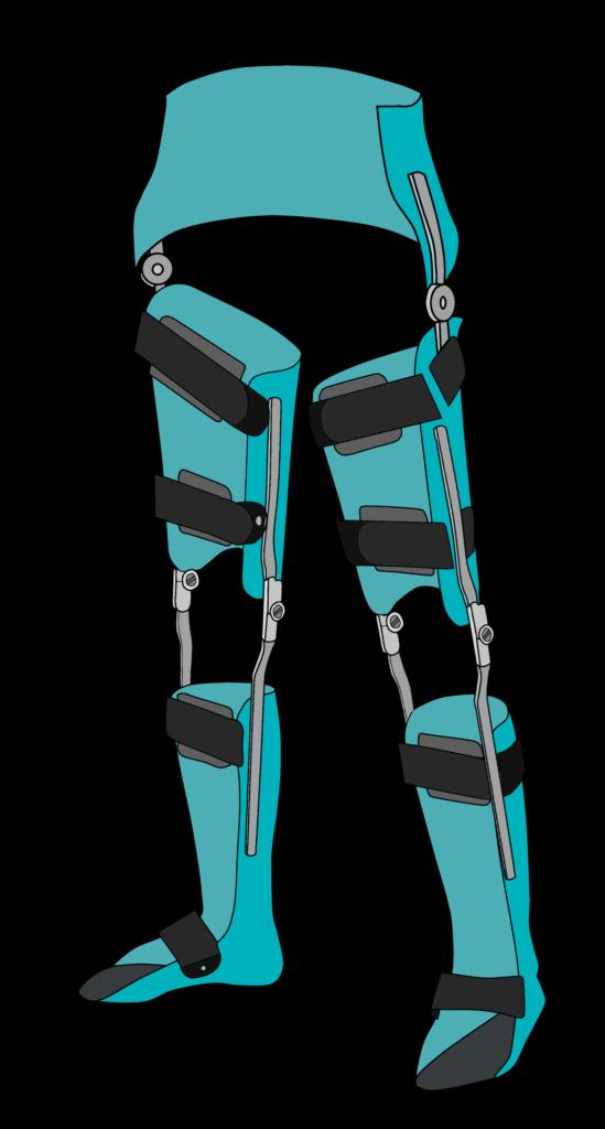 骨盤帯付両長下肢装具(KSHKAFO)