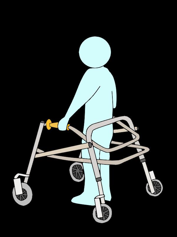 歩行器 PCW(posture control walker)