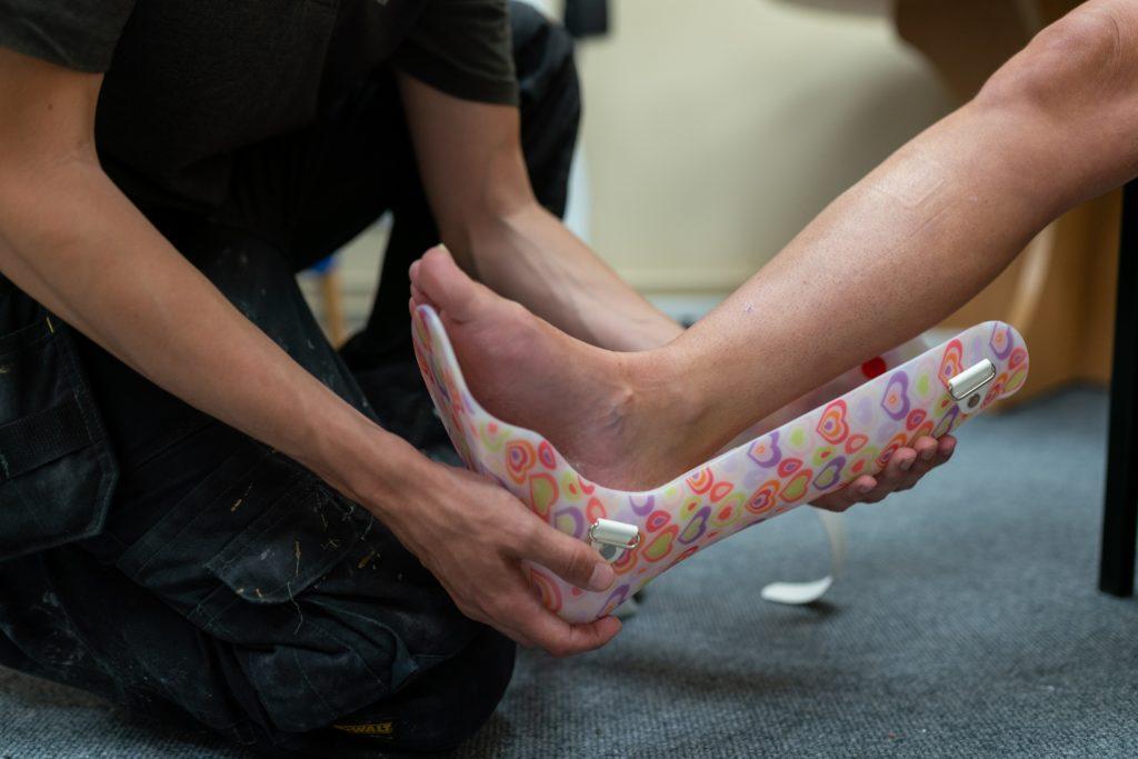 短下肢装具:SHB