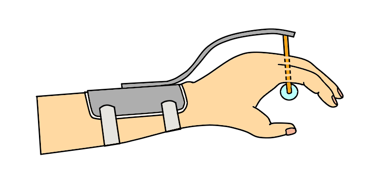 トーマス型牽引装具