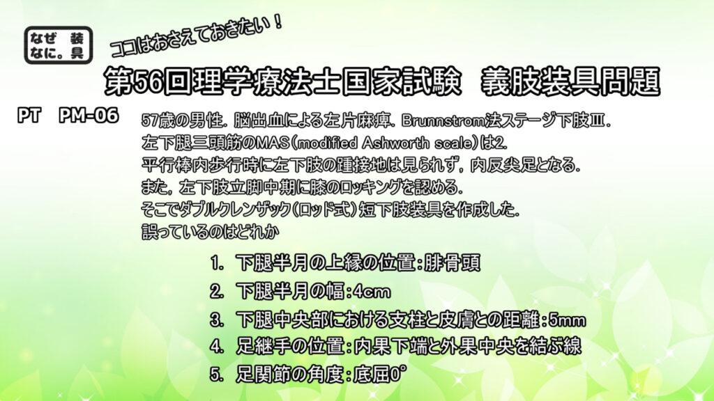 PT56-PM06 問題文